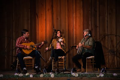 Traditional fiddle music is the heartbeat of a barn dance.